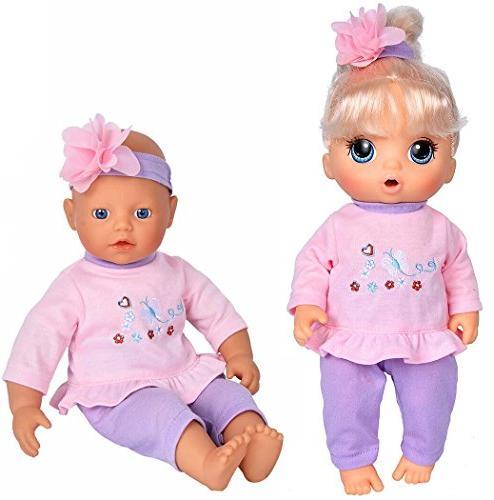 "5-Pack 11""-12""-13"" Baby Dolls Alive Baby Baby Dolls"