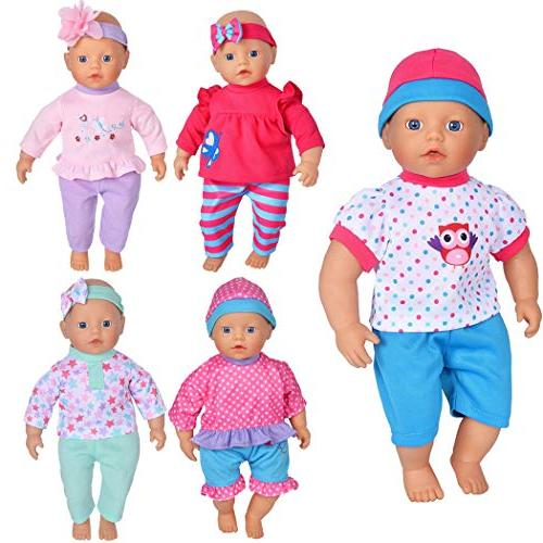 "5-Pack 11""-12""-13"" Dolls Like 11-inch Baby Dolls /12-inch Alive Baby Dolls Baby Dolls"