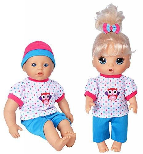 "5-Pack Outfits 11""-12""-13"" Dolls Baby Baby New Baby Dolls"