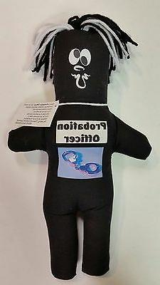 PROBATION OFFICER FRUSTRATION DOLL dammit Stress Relief Occu