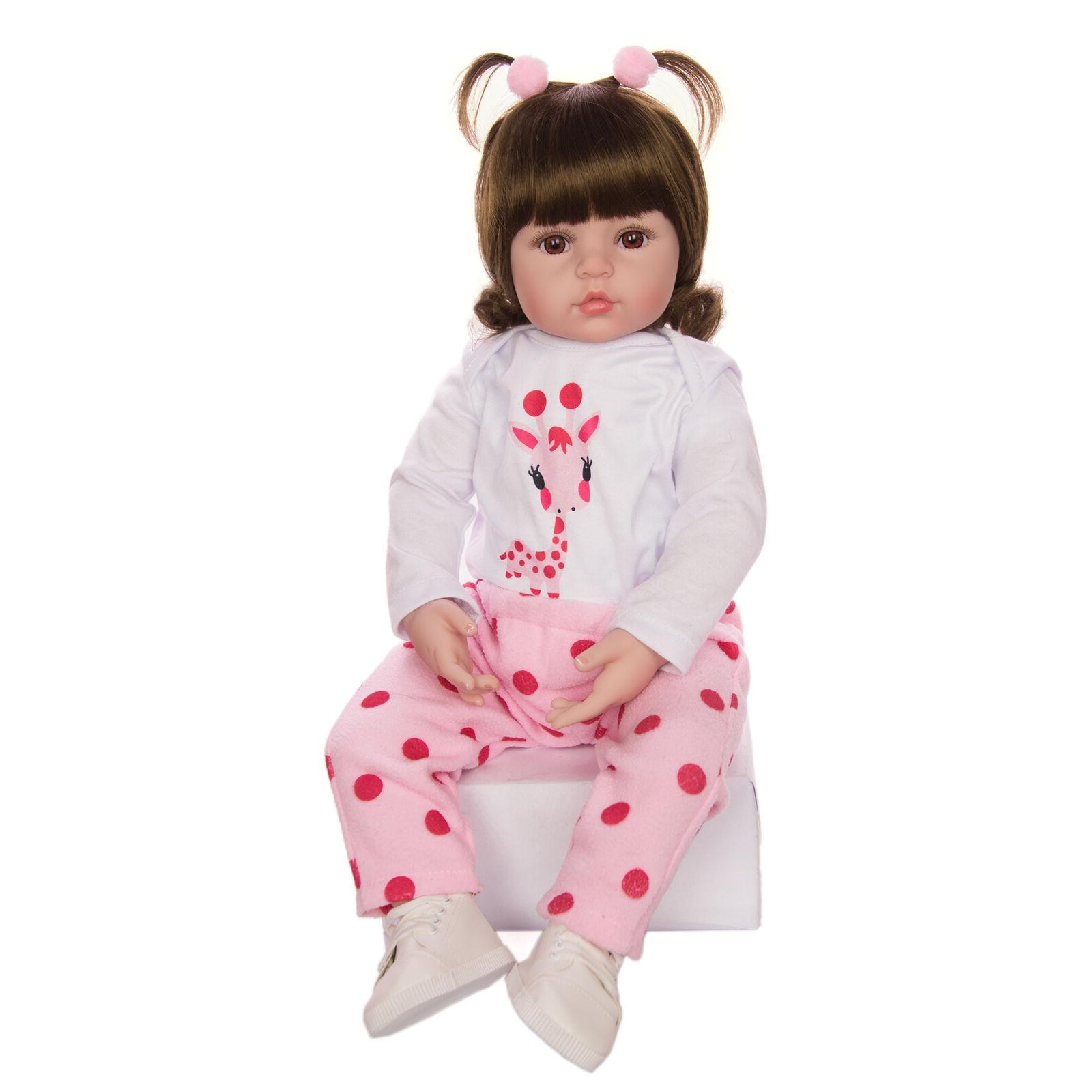 Reborn Doll Cloth Body Baby With Toddler