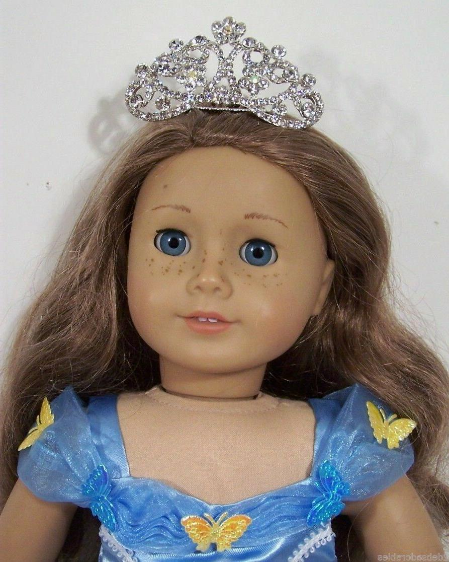 Rhinestone Tiara Clothes Accessory For American Girl
