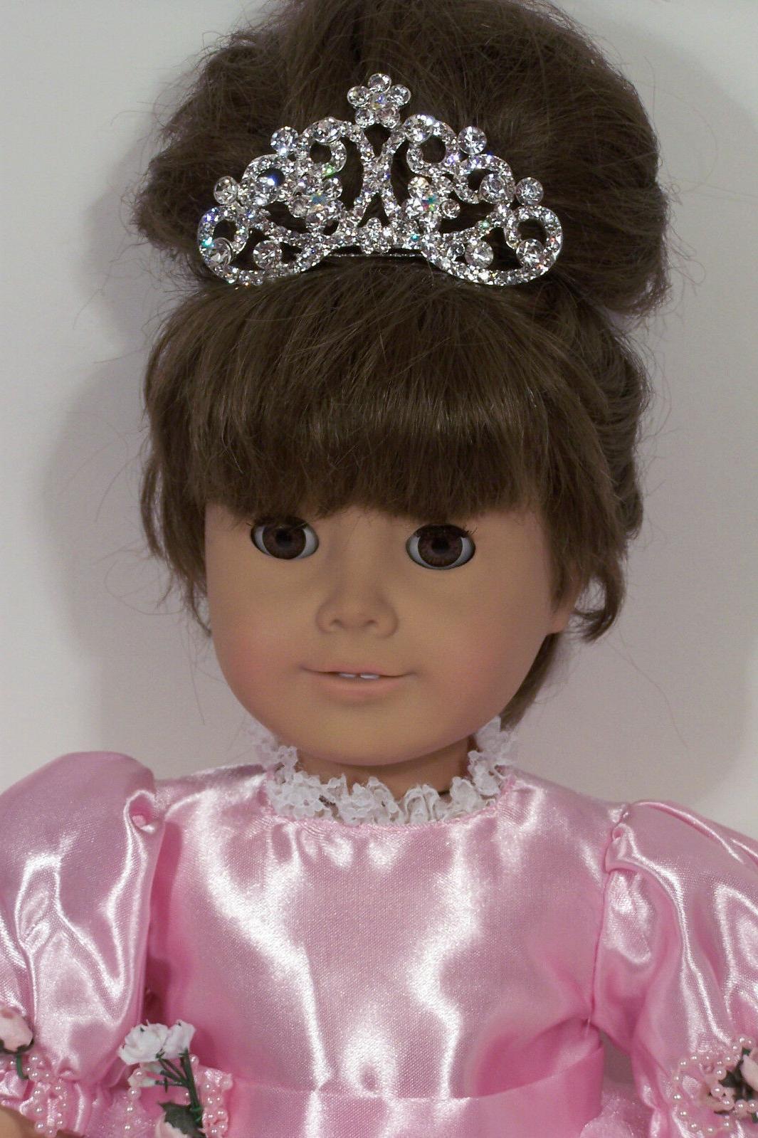 rhinestone princess tiara doll clothes accessory