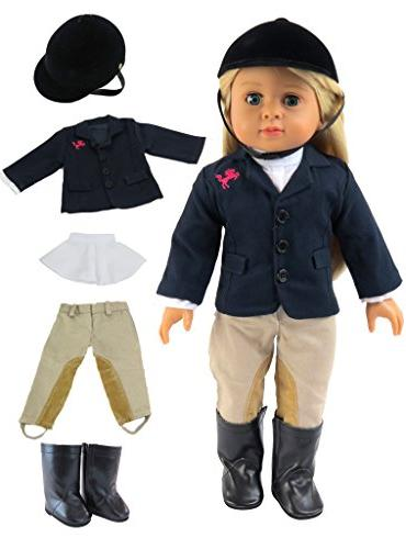 """18/"""" Doll Clothing Riding Outfit"""