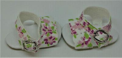 Sandals Blossom for Reina Wellie Wishers Doll Shoes Accessories