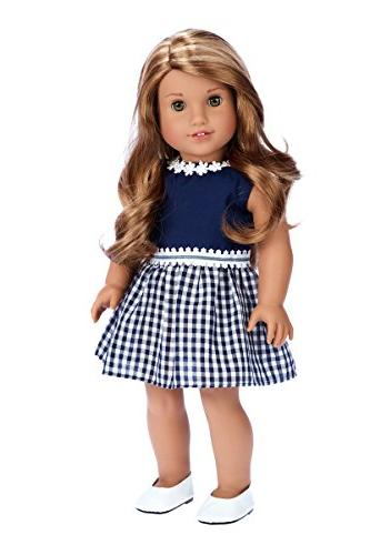 18 inch  DOLL CLOTHES ~ ARIANNA ~ PRINCESS BLACK GLITTER DRE