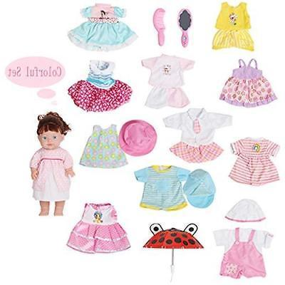 Huang Cheng Toys Set of Baby Clothes Outfits...