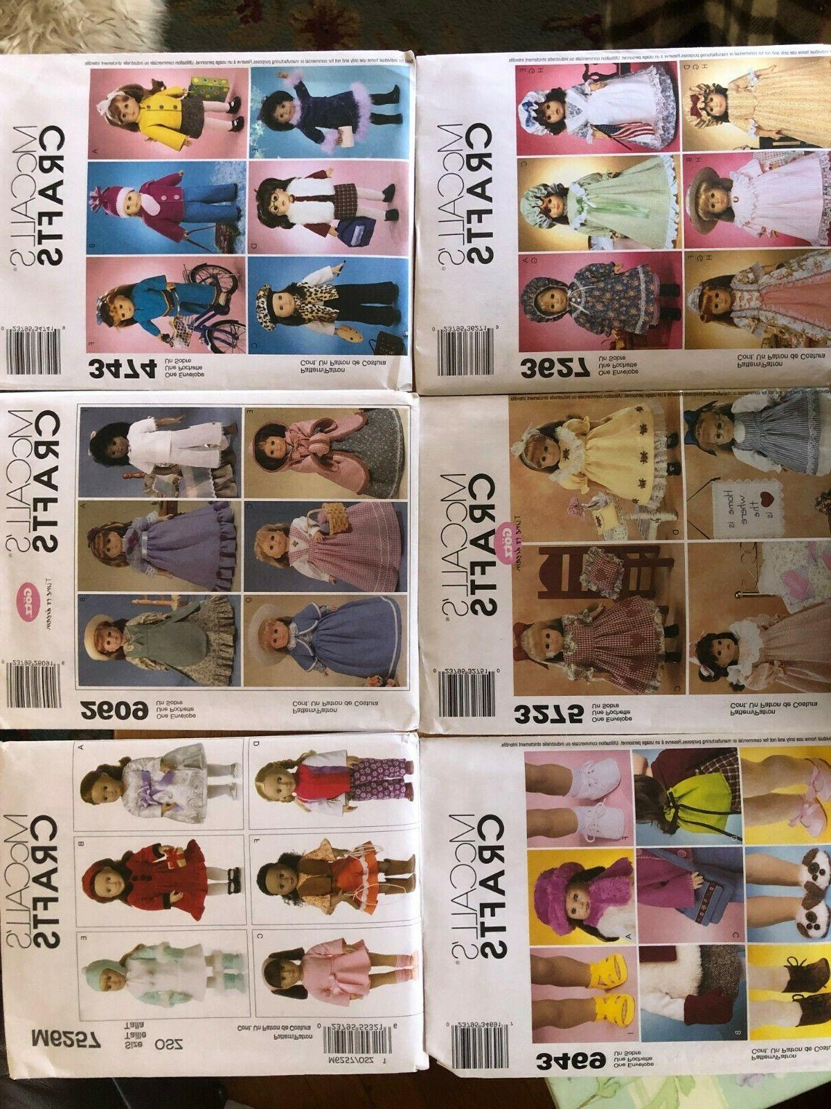 set of 6 s crafts uncut patterns