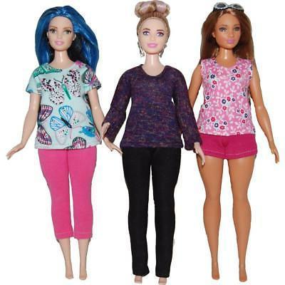Sewing Barbie Doll by TKCT Leggings Tops