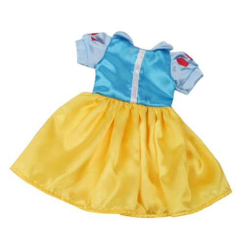 Snow White Skirt Summer Role Play Clothes for American 18inc
