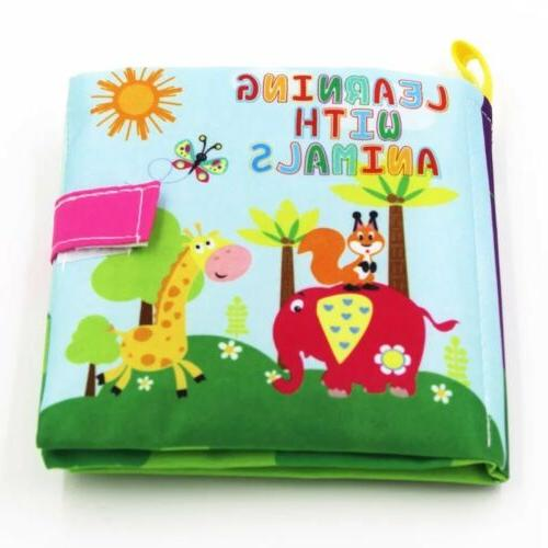 soft cloth baby books learning toys toddlers