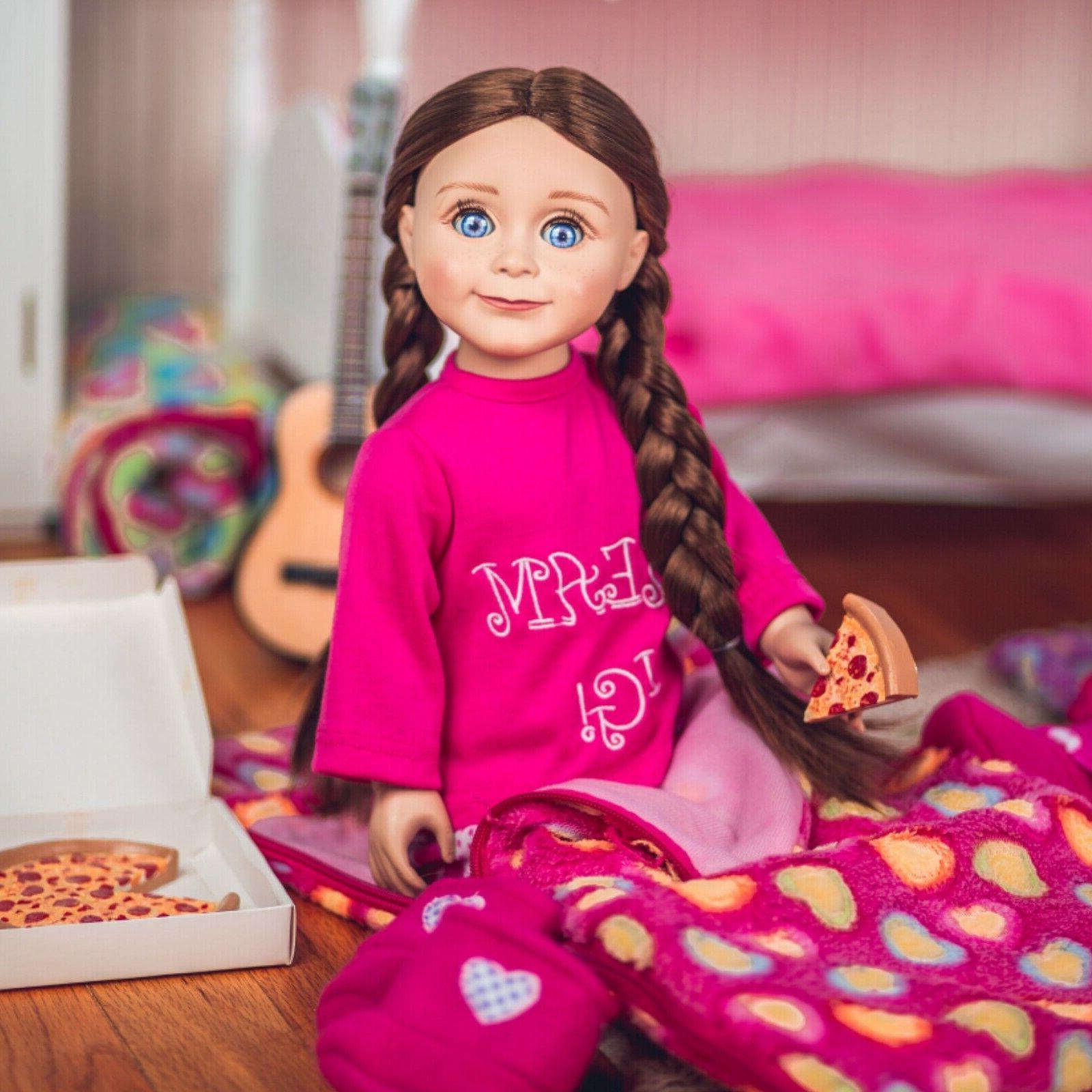 soft pink heart pattern doll