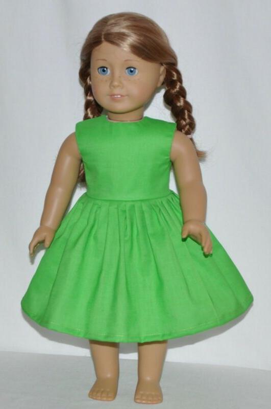 Summer Green Clothes Fits Dolls