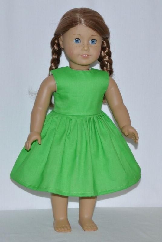 Summer Green Doll Clothes Girl Dolls