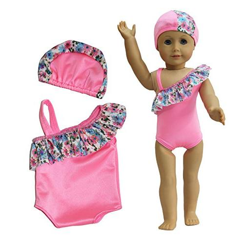ZITA American Girl Bikini Swimwear Suits 18""