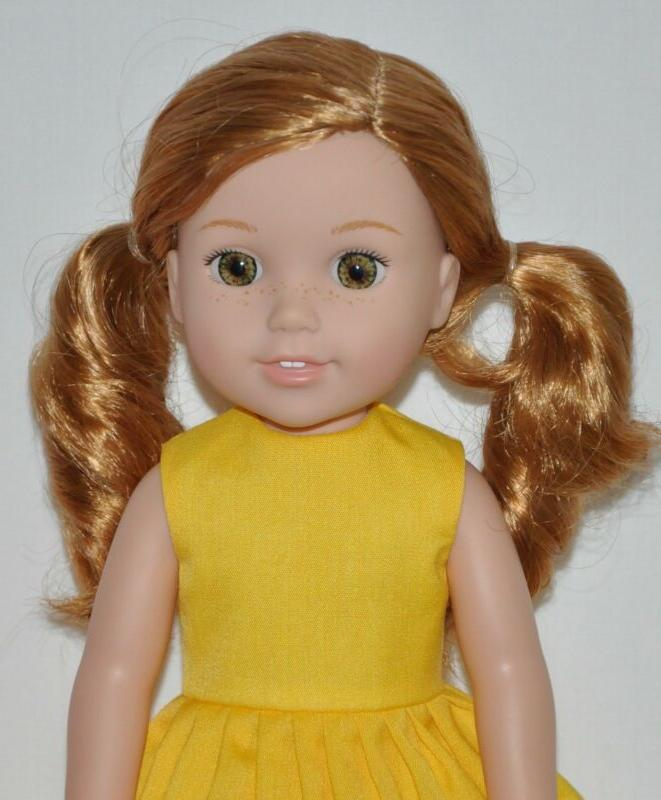 Summer Yellow Fits Doll