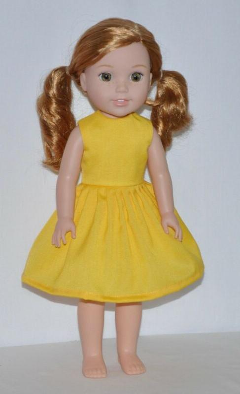 Summer Yellow Doll