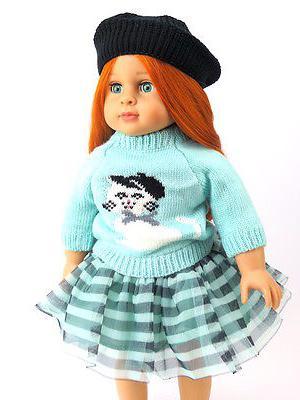 teal stripe cat skirt set fits 18