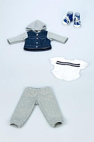 DreamWorld Collections - - - Clothes Fits Inch - Jacket, Sweatpants, T-Shirt