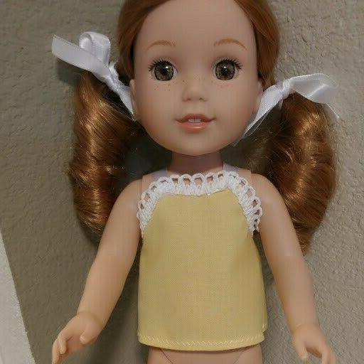 top fits 14 inch doll clothes wellie