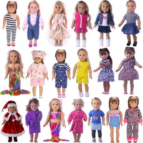 US Doll Clothes Underwear Shoes Dress Accessories