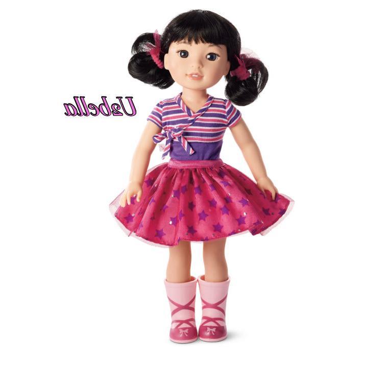 American Girl Wellie Wishers Emerson Doll 14.5 Wellie Wisher