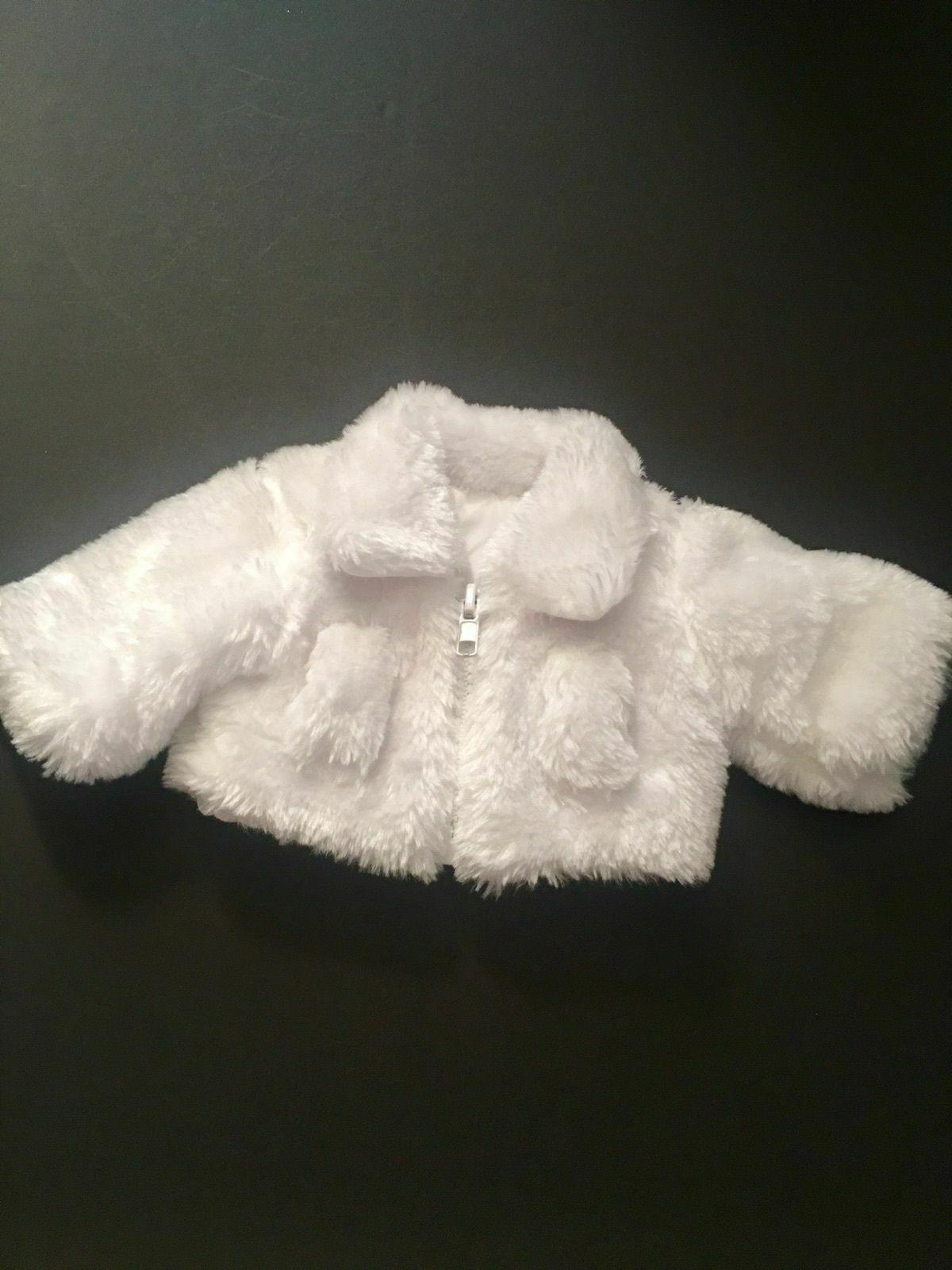 white fur coat for american girl dolls