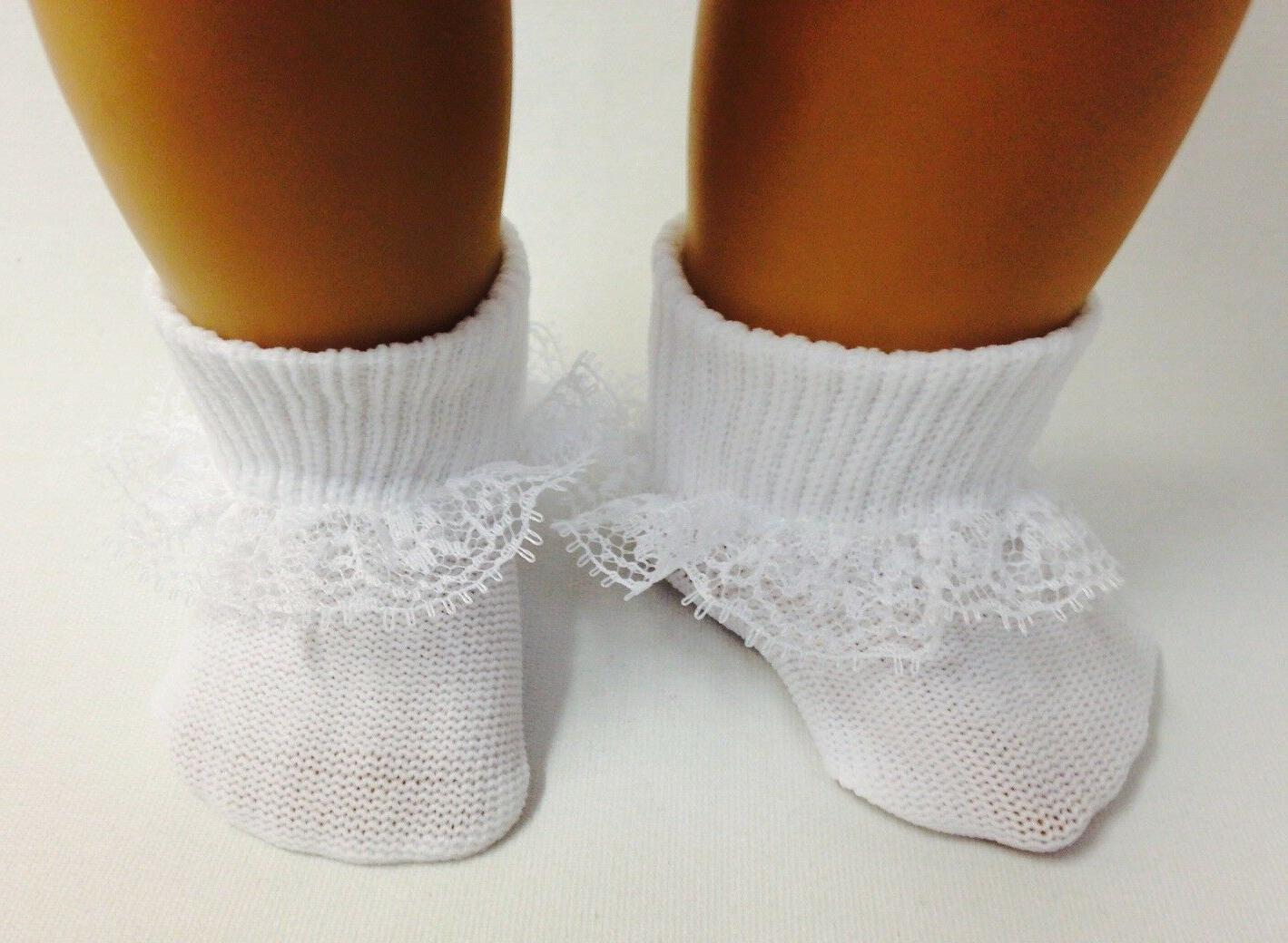 """White Lace made for 18"""" American Girl Clothes"""