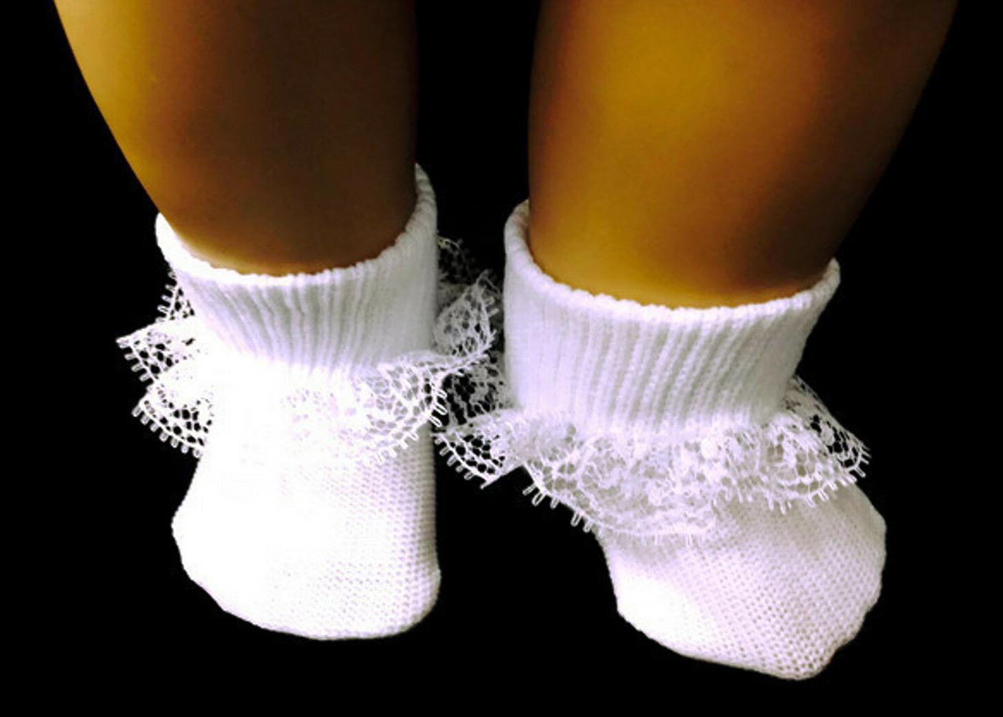 White Socks made Girl Clothes