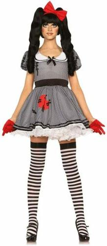 Wind Me Up Dolly Girl Toy Doll Cute Fancy Dress Up Halloween