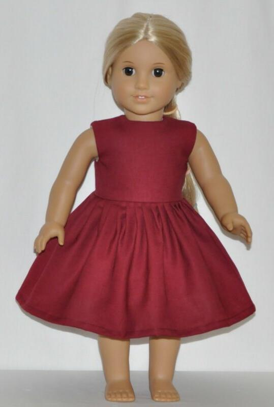 Wine Doll Clothes Fits Girl Dolls