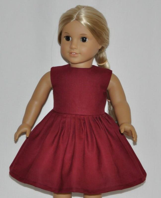 Wine Clothes Fits Dolls