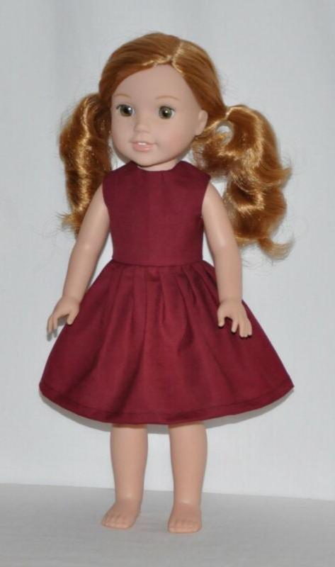 Wine Doll Fits American Wisher Doll