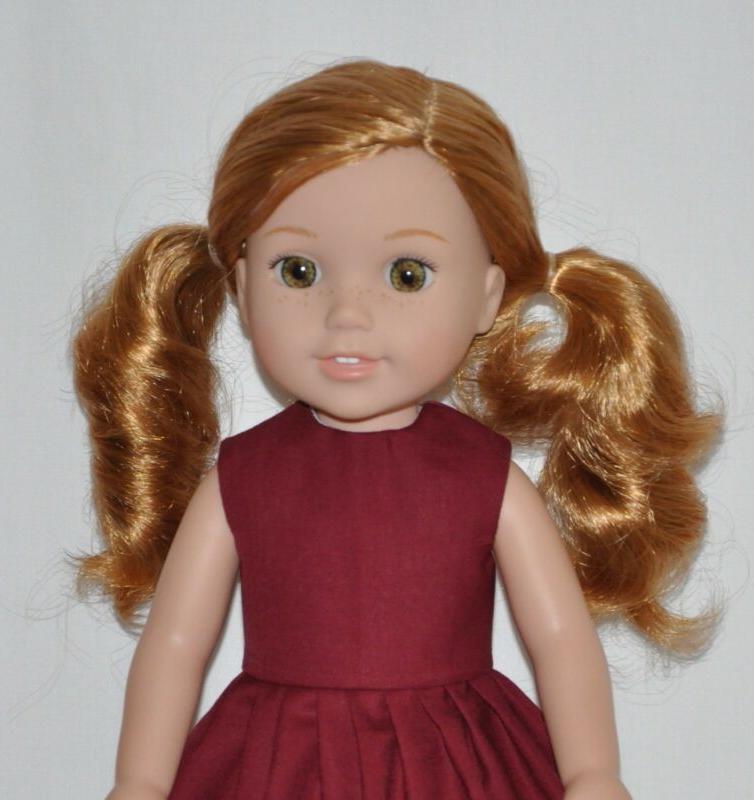Fits American Girl Wellie Wisher Doll