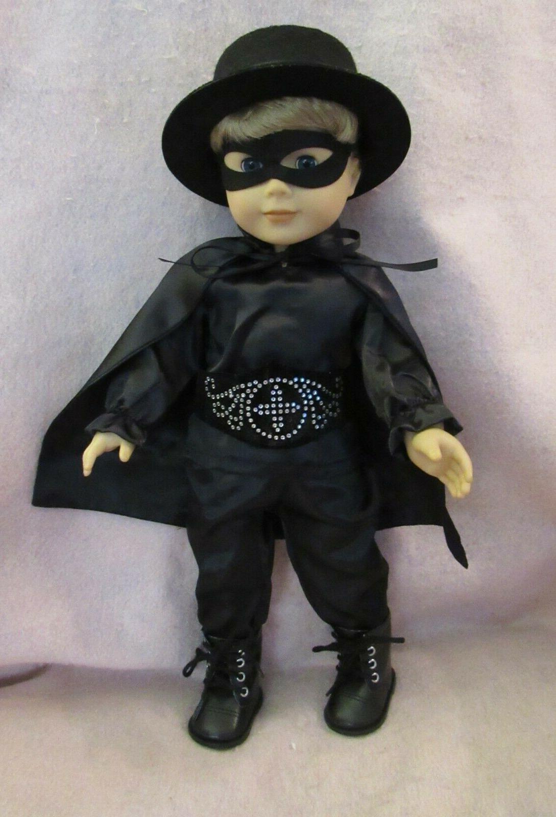 zorro set fits american boy doll 18
