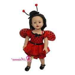 ladybug 3pcs doll costume for 18 american