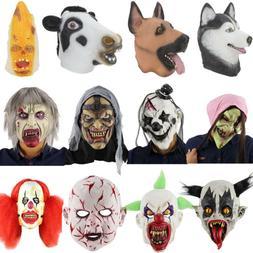 Latex Full Head Halloween Deluxe adult size Fancy Dress Mask