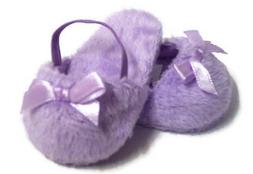 Lavender Mule Slipper Shoes made for 18 inch American Girl D