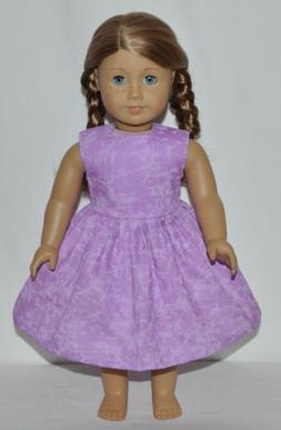 "Lavender Slate Dress For 18"" American Girl Doll Clothes"