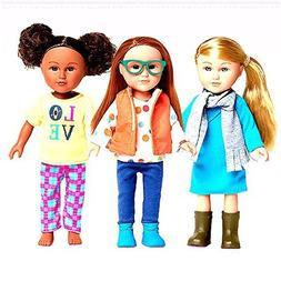 My Life As Mini Outdoorsy Girl Outfits - Set of 3 Outfits fi