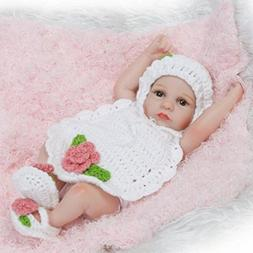 Dirance Lifelike Reborn Doll Sleeping Soft Silicone Full Bod