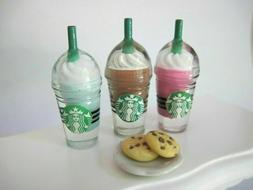 LOL SURPRISE Dolls CUSTOM 5 PC STARBUCKS FOOD ACCESSORIES -