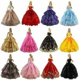 Zita Element Lot 6 Pcs Clothes Dress For 11.5 Inch Girl Doll