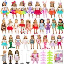 ZITA ELEMENT Lot Fashion Doll Clothes & Accessory for Americ