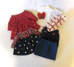 """Lot of 10 Doll Clothes fit 18"""" American Girl Doll Skirt Set"""