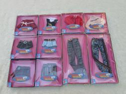 Lot of 10 Ten My Scene Fashion Scene Clothing Barbie Outfits
