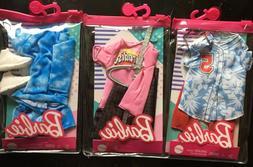 Lot of 3 2021 Barbie 3 Ken Doll Fashion Packs HTF!