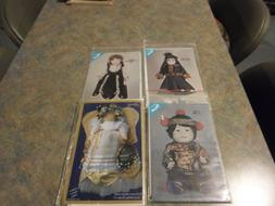 lot of doll clothes patterns for porcelain dolls