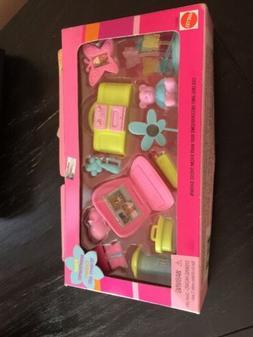 Lot Of  New Mattel Barbie Fashion Av. Baby, Teen Room Brand