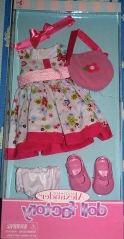 "Madame Alexander Floral Dress Outfit for 18"" Dolls"